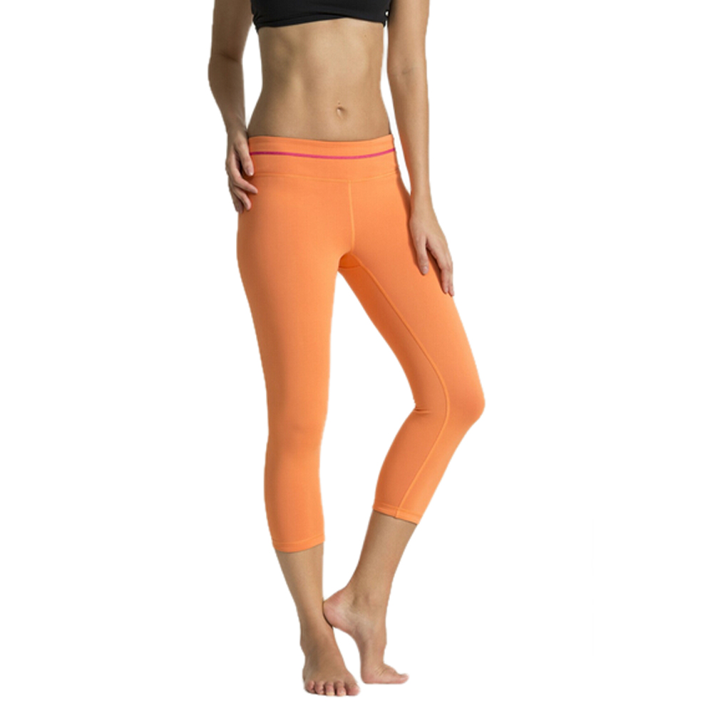 Professional fitness apparel manufacturers compression tights sexy women yoga capri pants