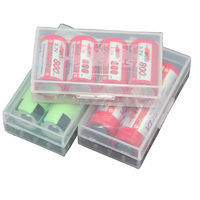Popular hot sale 18350 transparent battery holder case