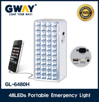 1800-2000MCD LED emergency light,5V USB charging rechargeable lanterns