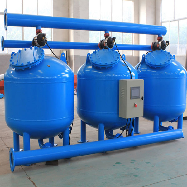 Sand Filter for Drinking Water Treatment