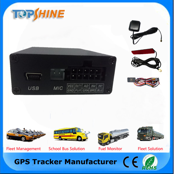 2017 black technology vehicle GPS tracker Mileage report Monitor fuel consumption