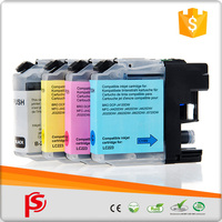 Compatible Black Yellow Magenta Cyan ink cartridge LC223 for BROTHER DCP-J4120DW for BROTHER MFC