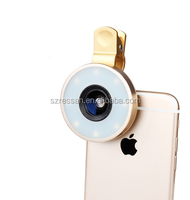 Hot new Universal 235 degree Circle Clip Fisheye Fish Eye Camera Lens For Cell Phone