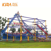 Adventure Outdoor High Rope Course Playground Equipment Adult Challenge Rope Obstacle Course