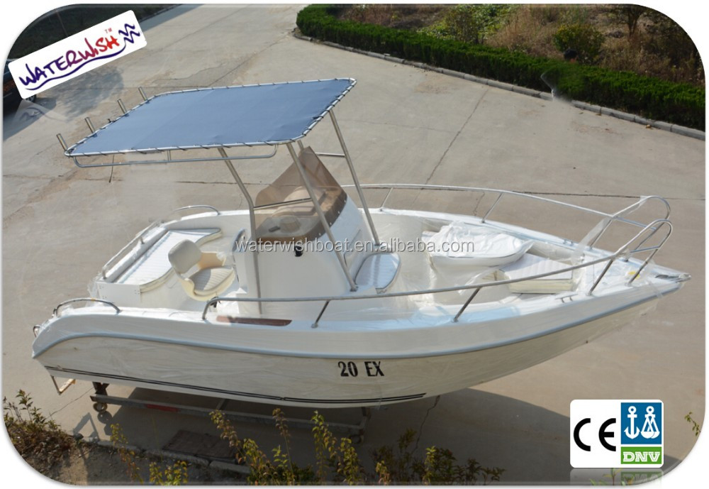 Qd 20 ex fiberglass small speed boats for sale with for Small motor boat for sale