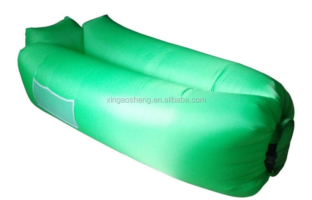 Hot selling in 2017 ecoiou inflatable bean bag / lazy bag