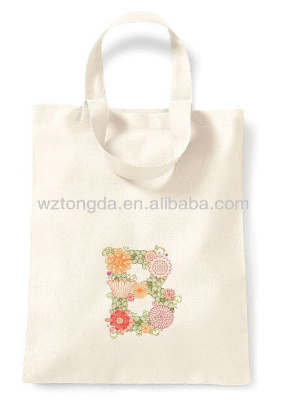 Personalised Favour Party Gift cotton Canvas Tote Bag WZ7072