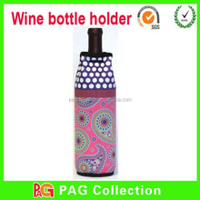 One Bottle Wine Bag Tote Neoprene