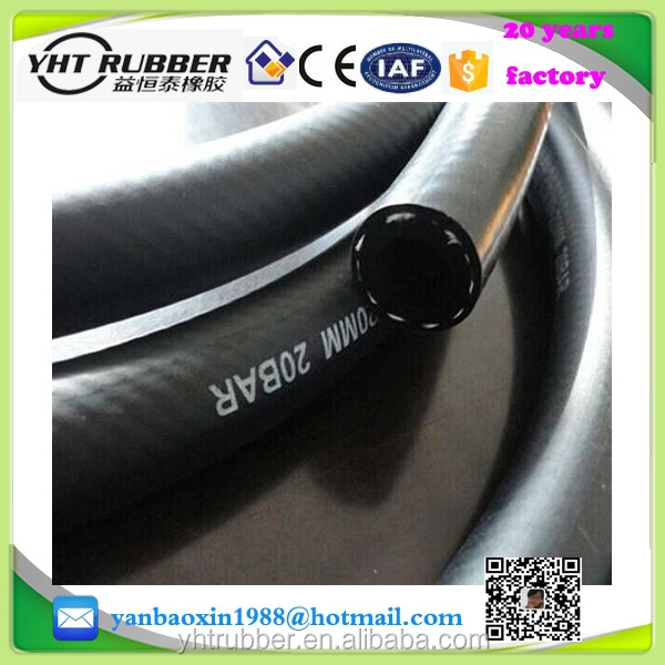 "20 bar smooth cover rubber air hose 3/4"" 19mm, CE and ISO certificate"
