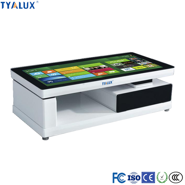 55inch super monitor tablet screen touch stand alone advertising display