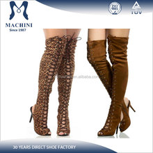 Europe market fashion women over knee boots thigh, boots women shoes 2016