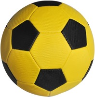 pebble surface soccer ball