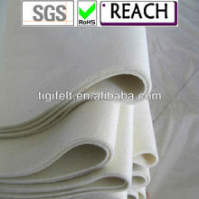 white industrial woolen felts