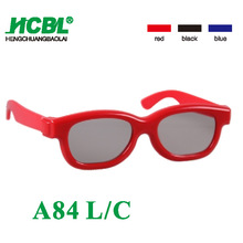 OEM printed cheap passive 3d glasses for children movies