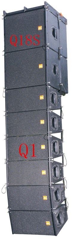 "Dual 10 "" (neodymium) line array speaker <strong>Q1</strong> from guangzhou , china"