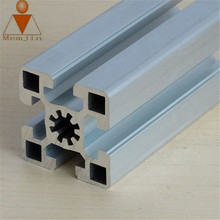 6063 T5 series silver/Bronze/golden anodized aluminium profile for glass window frame