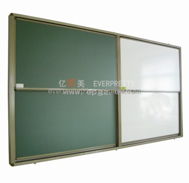 Cheap Wall Mounted Green Board Tempered Glass White Board School Black Board
