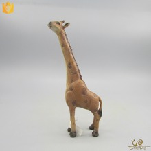 Home Decor Polyresin Craft African Animal Figurines Resin Giraffe Statue Gift