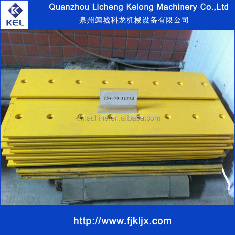 D80 D85 Heat Treating bulldozer cutting edge 154-70-11314