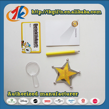 Promotional Star Badge And Stationery Set Toy For Kids