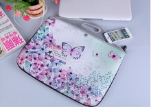 Customize High-quality colorful neoprene laptop bag lady bag /shopping neoprene tote bag