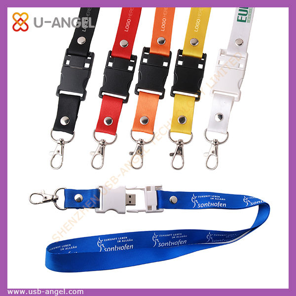 custom rope usb flash drive unique lanyard usb pen drive bulk cheap usb memory stick