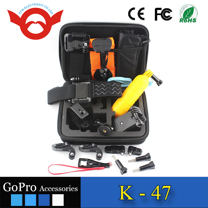 17-in-1 GoPro accessory kit for Gopro Hero 2/3/3+/4/4 Session
