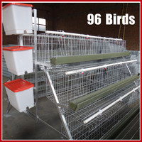 Folding Chicken Breeding Coop Cage For Chicken Farm