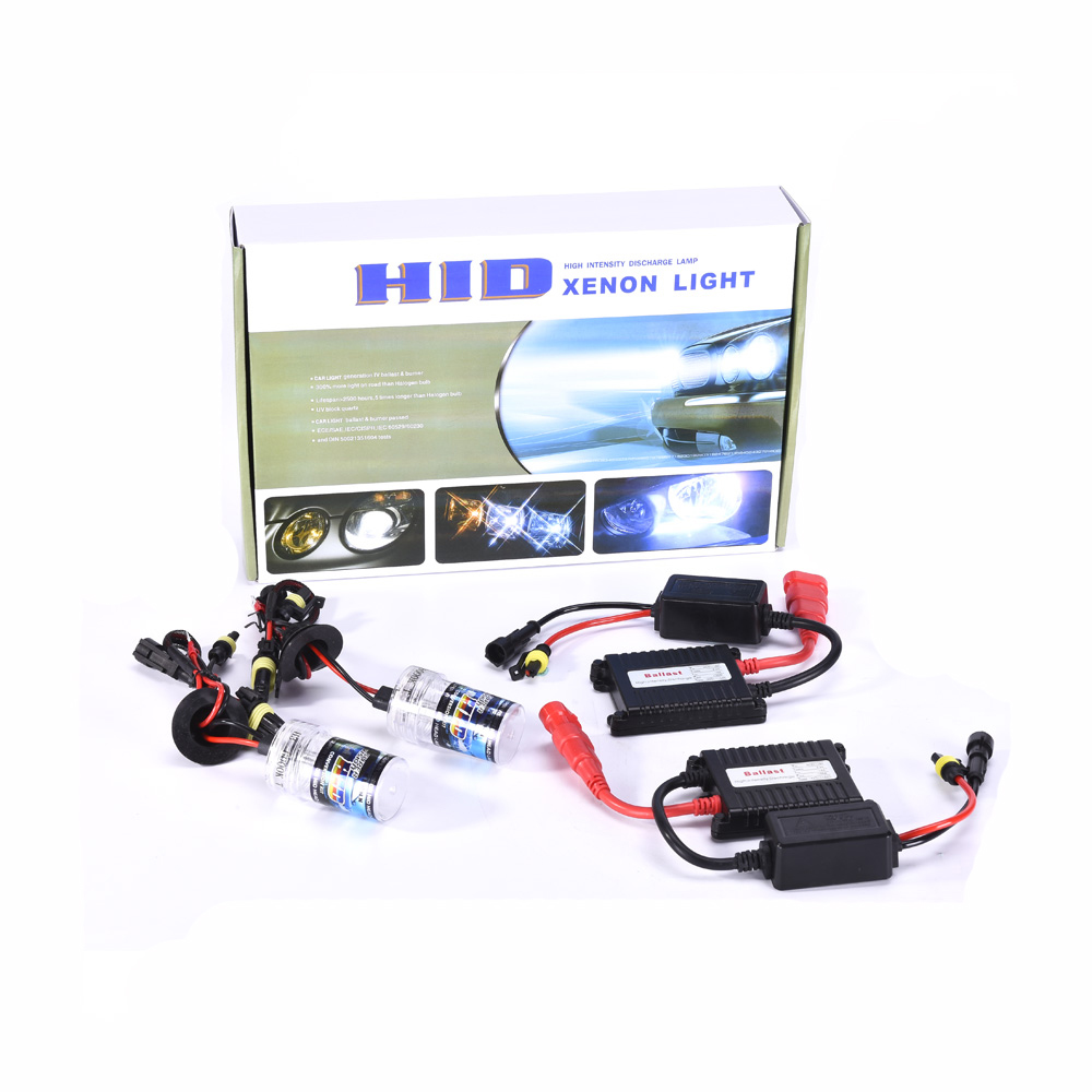 H3 H11 H4 9006 35W 55W Metal Base Xenon Bulb Car HID Conversion Kit