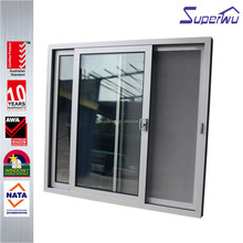 High quality double glazing aluminum cabinet sliding door roller