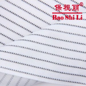 160 gsm Polyester Cleanroom ESD Wipes with Conductive Yarn
