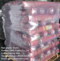 manufacturer UV treatment red plastic mulch 4ft. X 25ft. 1.0 Mil