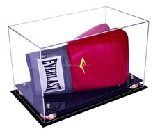 Acrylic security boxing glove display box case