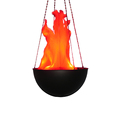 Electric artificial fire flame LED
