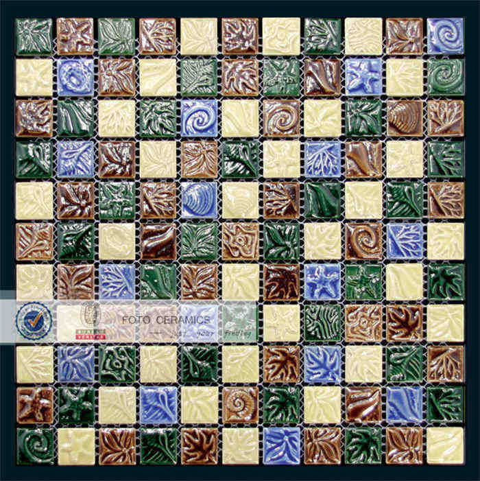 Mosaic ceramic tile patterns