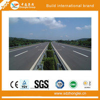 Road safety barrier, traffic safety facilities, waveform galvanized fence panels