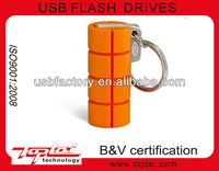 latest design Rugged-Key silicone usb 3.0 flash pen drive memory stick high speed 4gb