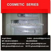 2013 best sell cosmetic acrylic cream jar cosmetic packaging jars for beauty cosmetic using