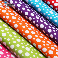 China wholesale Cheap fabric textile polka dot poplin printing fabric 100% cotton fabric