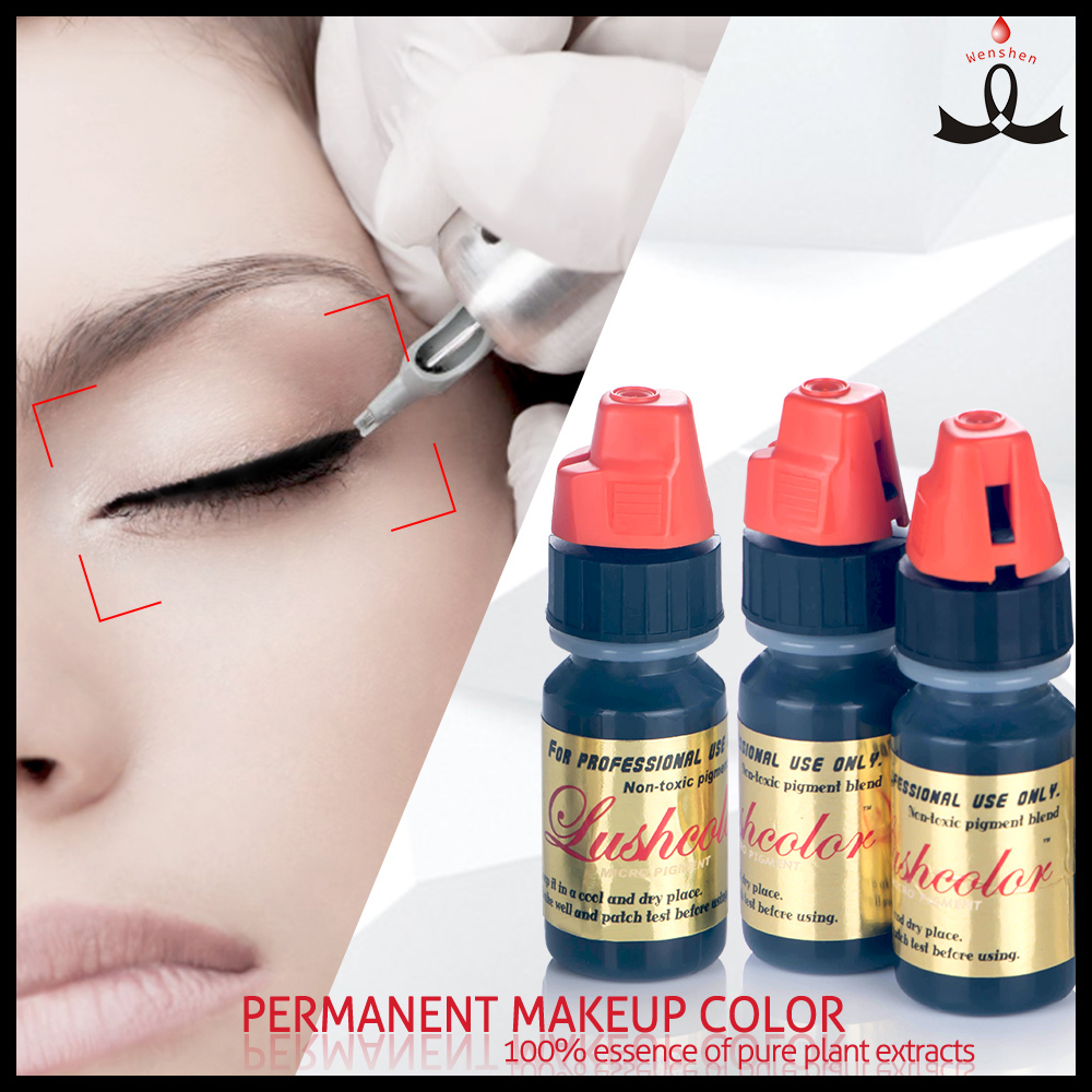 Permanent Makeup Of Micro Pigment Cosmetic Tattoo Pigment