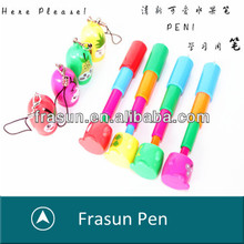New Style Fruit Shape Retractable Colorful Promotional Lanyard Mini Pen