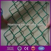 Plastic coated decorative chain link fence / PVC chain link fence/green chain link fence