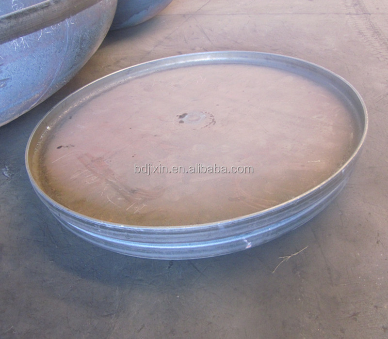 steel forged forming pressure vessle plates tank dish end for boiler