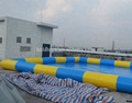 Hola inflatable pool/yellow inflatable swimming pool for kids