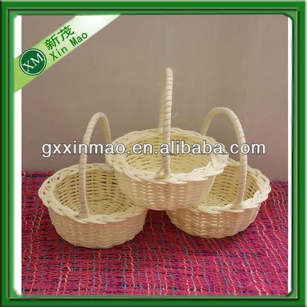 mini leer geschenkkorb rattank rbe gro handel lagerungskorb produkt id 746795324. Black Bedroom Furniture Sets. Home Design Ideas