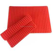 multi function counter mat drying mat silicone pyramid trivet
