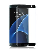 Color tempered galss galaxy s7 edge screen protector with factory price