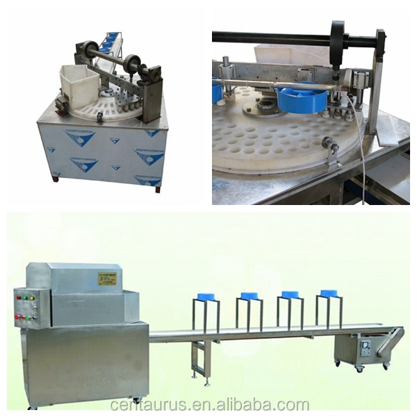 Best price full automatic puff rice cake making machine with high efficient