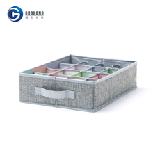 Moisture-proof underwear storage organizer cardboard drawer storage box
