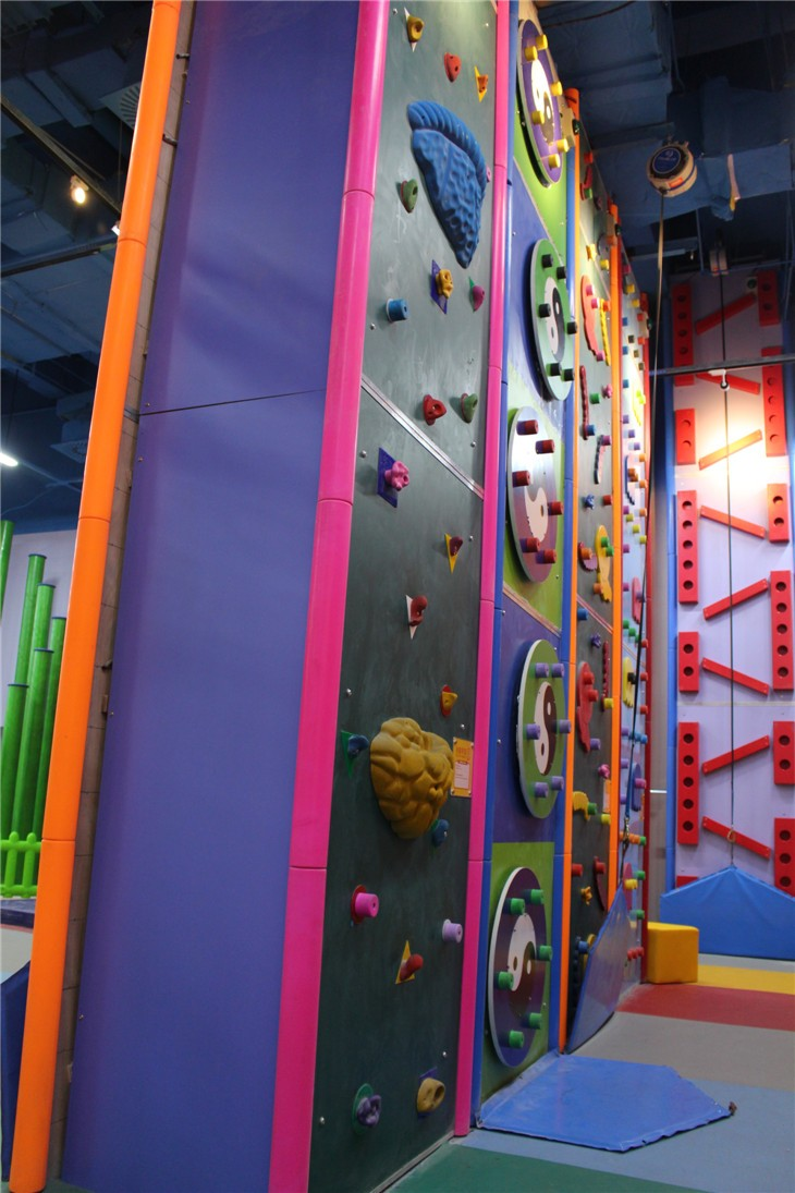 Climbing Wall Design Company : New design climbing wall indoor with belay device buy
